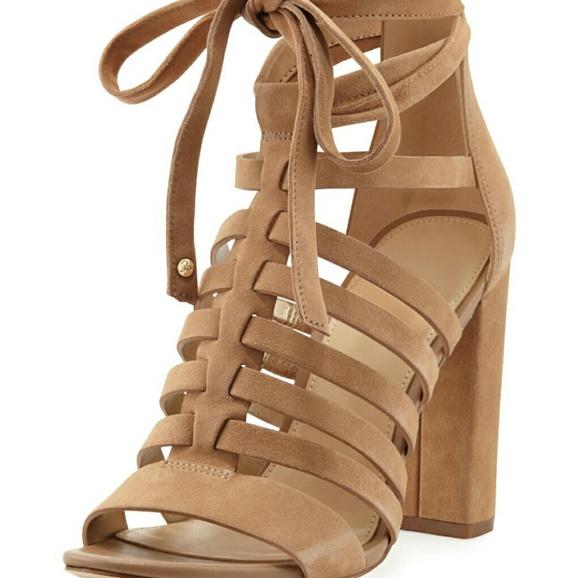 e3aa21401f8f1f Sam Edelman Yarina strappy suede sandals 8